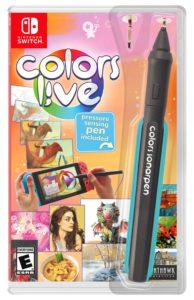 Colors Live Retail Bundle. Pressure-sensing pen included.
