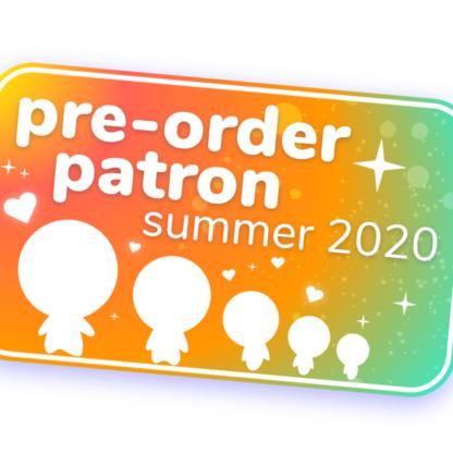 Badge Pre-order Patron